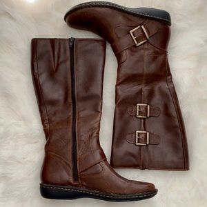 Knee High Brown Boc Boots